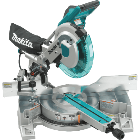 Dual Slide Compound Miter Saw with Laser
