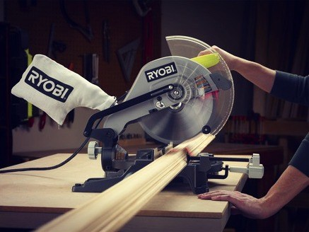 Compound Miter Saw with Laser Line